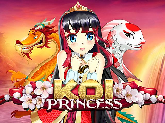 Онлайт автомат Koi Princess