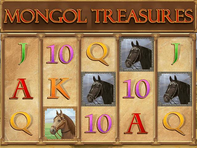 Онлайн автомат Mongol Treasures